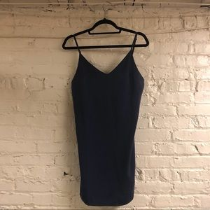 NWT Midnight Blue Slip Dress